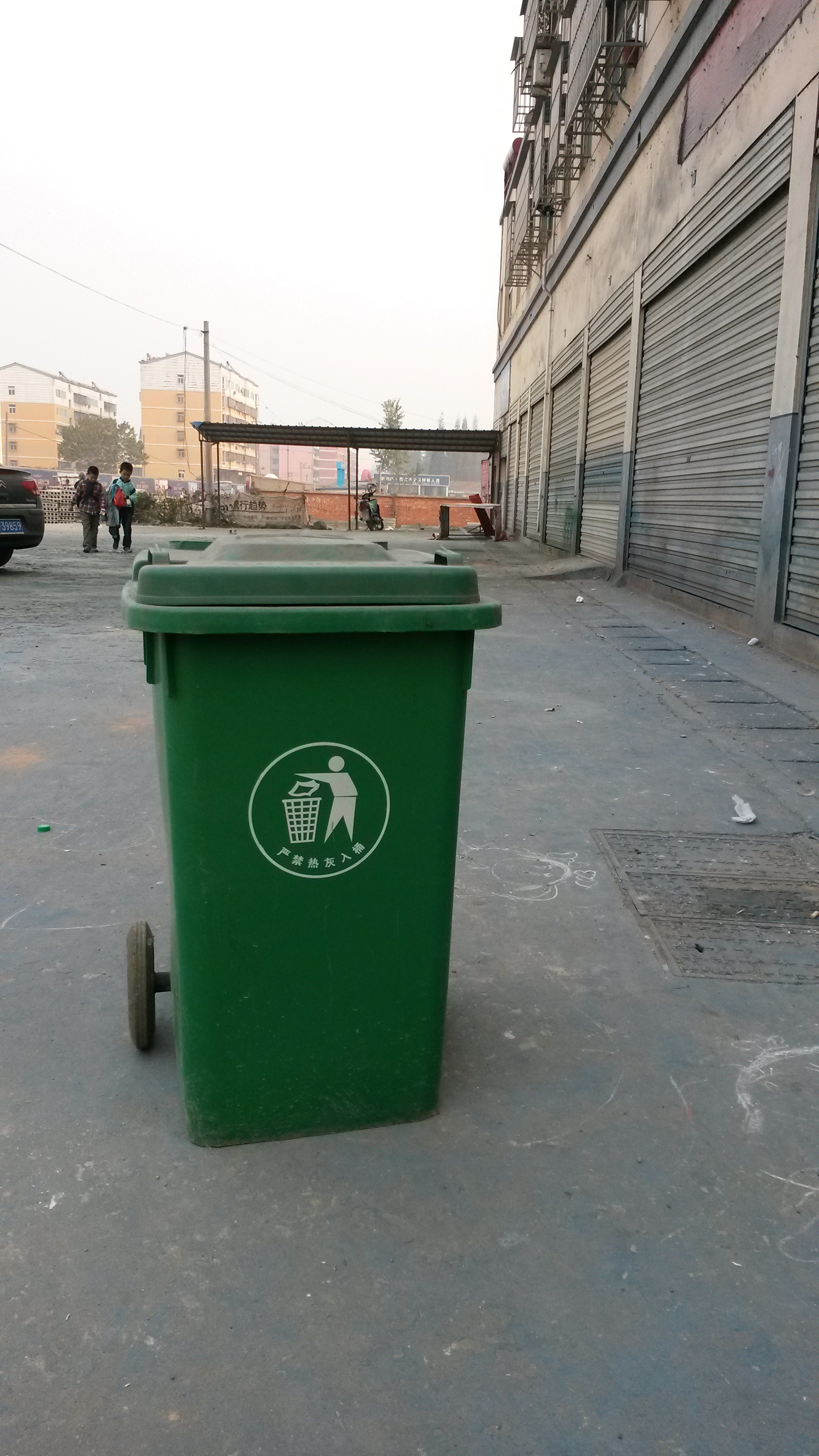 垃圾车配件 塑料挂桶