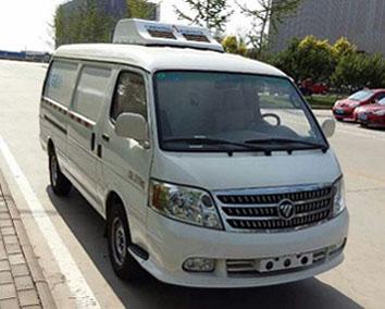 国五福田风景面包冷藏车