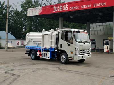 福田康瑞压缩式对接垃圾车