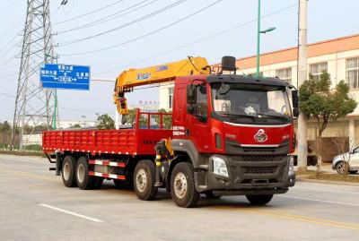 柳汽乘龙前四后八随车吊(12-16吨)