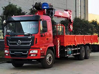 陕汽X6(10-14吨)随车吊