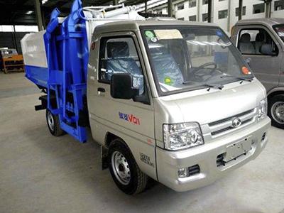 福田驭菱挂桶式垃圾车
