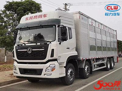 天龙9米6国六活猪运输车
