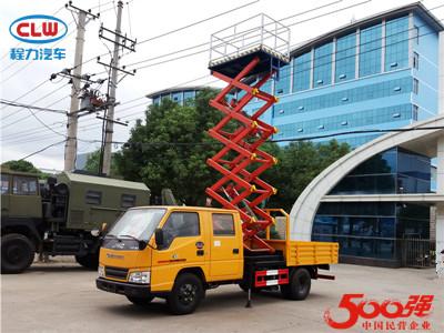 江铃8-12米升降平台高空车