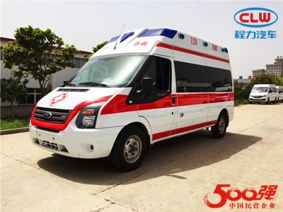 福特V348高顶监护型救护车